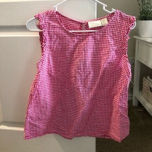 Cynthia Rowley Gingham top